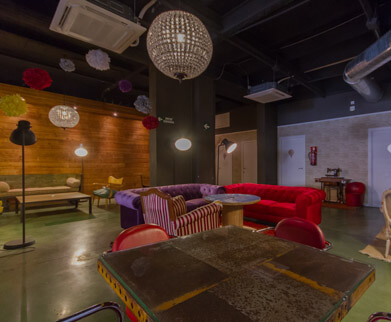 Sala para eventos Inspirational Coffee